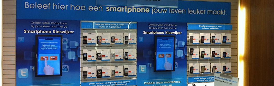 Interactieve Smartphone Kieswijzer: 'Digitale hulp bij het maken van een moeilijke keuze'