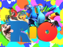 De tekenfilm RIO beleeft een interactieve promotie