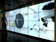Werelds grootste interactieve videowall