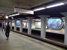 Narrowcasting in de metro