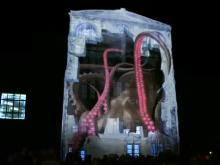 Een 3D show van LG