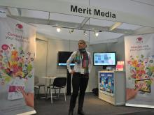 Stand Merit Media Narrowcasting